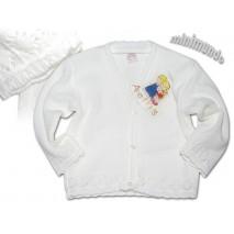 biały sweterek ANGEL KIDS 6/12 m-cy 12/18 m-cy 18/24 m-ce