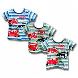 t-shirt DISNEY CARS 62/68 68/74 12/18m-cy